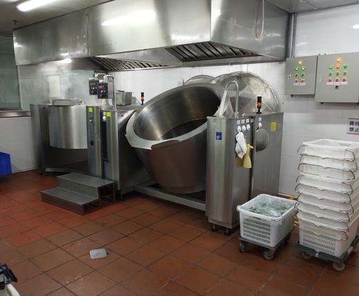 高校食堂专用大型炒菜机